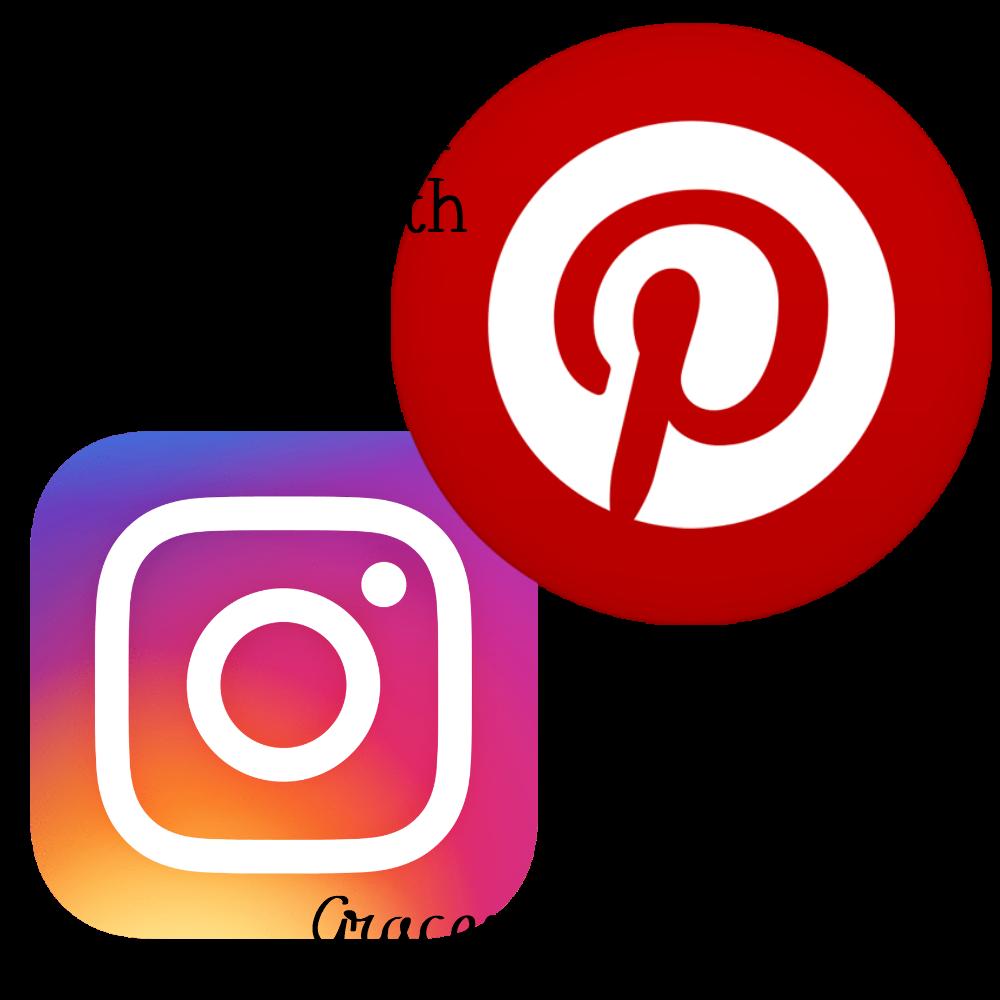 Instagram Pinterest