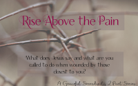 Rise Above the Pain Part 1
